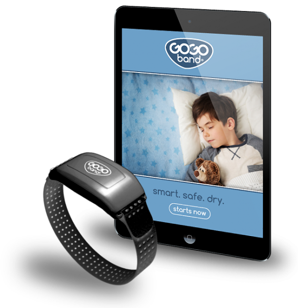 GoGo Band Bedwetting Solution, a highly effective alternative to a Bedwetting Alarm.